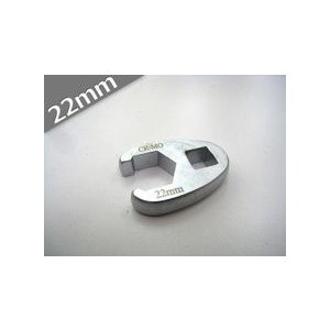 送料無料 定形外発送 1/2 デラックスクローフットレンチ 22mm