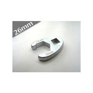 送料無料 定形外発送 1/2 デラックスクローフットレンチ 26mm