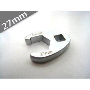 送料無料 定形外発送 1/2 デラックスクローフットレンチ 27mm
