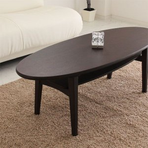 センターテーブル リビングテーブル オーバル 北欧 ミッドセンチュリー|stepone09