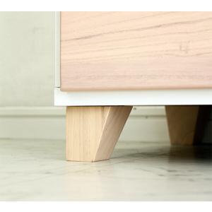 チェスト 完成品 ローチェスト 木製 120 収納タンス 安い ニトリ IKEA 無印好きに人気 新生活 ワンルーム 一人暮らし 新生活応援|stepone09|08