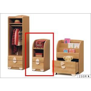 キッズ家具 子供用収納ラック チェストラック ベビータンス 完成品 セール|stepone09