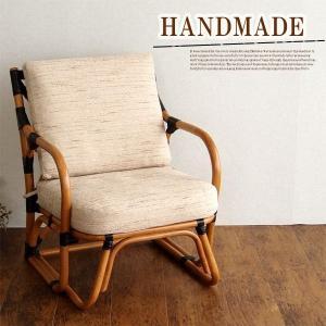 籐チェア ラタンチェア アジアン 完成品 椅子 パーソナル|stepone09