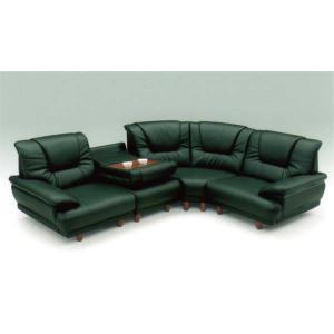 ソファー コーナーソファ コーナー 4点 セット PVC レザー テーブル付4点|stepone09