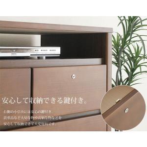 テレビボード ハイタイプテレビ台 収納 おしゃれ 完成品 木製 ミドル収納 北欧 カフェ|stepone09|04