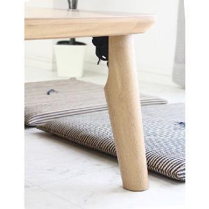 ローテーブル 折れ脚 センターテーブル 幅120cm 和 和風|stepone09|04