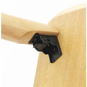 ローテーブル 折れ脚 センターテーブル 幅120cm 和 和風|stepone09|05