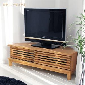 テレビ台 コーナーテレビボード 引き戸 木製 120cm 完成品 シンプル モダン 2色対応 自然塗装 北欧 |stepone10|04