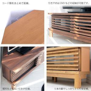 テレビ台 コーナーテレビボード 引き戸 木製 120cm 完成品 シンプル モダン 2色対応 自然塗装 北欧 |stepone10|06
