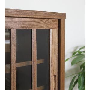 リビングボード サイドボード キャビネット 木製  90cm 完成品 和 和風|stepone11|04