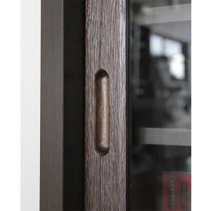 リビングボード サイドボード キャビネット 木製  90cm 完成品 和 和風|stepone11|05