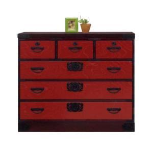民芸家具 たんす 箪笥 和モダン 国産 105 整理箪笥 2型 SALE セール (開梱設置無料)|stepone2008