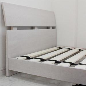 ローベッド  シングルベッド フレームのみ すのこベッド 北欧 ホテル仕様 白 (SALE セール) stepone2008 02