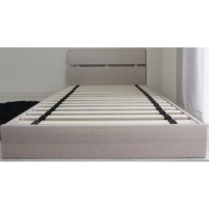 ローベッド  シングルベッド フレームのみ すのこベッド 北欧 ホテル仕様 白 (SALE セール) stepone2008 05