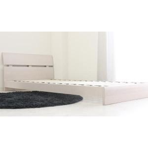 ローベッド  シングルベッド フレームのみ すのこベッド 北欧 ホテル仕様 白 (SALE セール) stepone2008 06