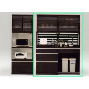 食器棚 キッチン収納 140 和風 SALE セール (開梱設置無料)|stepone2008