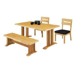 ダイニングテーブルセット ベンチ 4人用カントリー|stepone2008