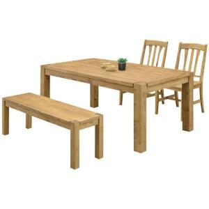 ダイニングテーブルセット ベンチ 4人用 カントリー ニトリ IKEA 無印好きに人気|stepone2008