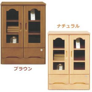 サイドボード 鍵付き キャビネット 完成品 木製 60 (SALE セール)