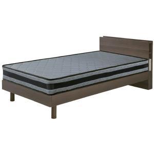 ベッド フレームのみ シングルベッド スノコ仕様 カジュアル ベッドフレーム 2口コンセント LED...