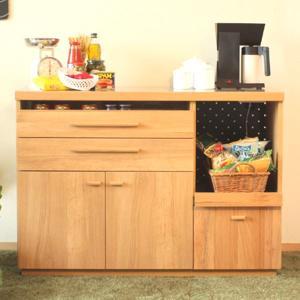 キッチンカウンター レンジ台 収納 おしゃれ 完成品 幅120cm 北欧|stepone2008|02