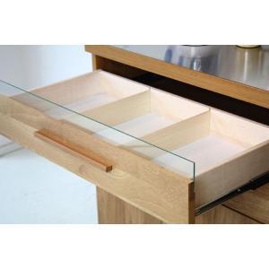 キッチンカウンター レンジ台 収納 おしゃれ 完成品 幅120cm 北欧|stepone2008|04