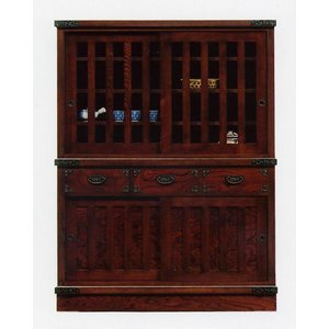 和 和風 和たんす 民芸箪笥 モダン 水屋121(開梱設置無料)|stepone2008