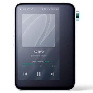 ACTIVO CT10 [Cool White] ハイレゾ対応ポータブルオーディオプレーヤー
