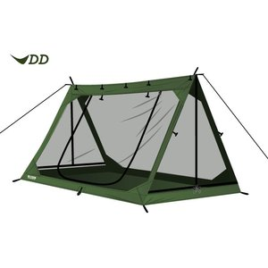 【在庫一掃セール】DD Aフレーム メッシュ テント パップテント  DD Hammocks tarp タープ ハンモック D steposwc