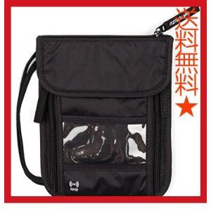 旅行 薄型 スキミング防止 キーホルダー付き  HATORIZU パスポートケース 首下げ 首掛け 防水 軽量 スキミング トラベル ネックポーチ 旅行 steppers