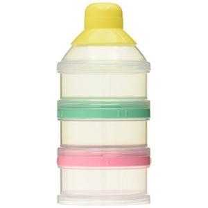 メーカー・ブランド:ピジョン  3回分の粉ミルクを1個ずつ持ち運べる便利なフタ付。中身の確認がしやす...