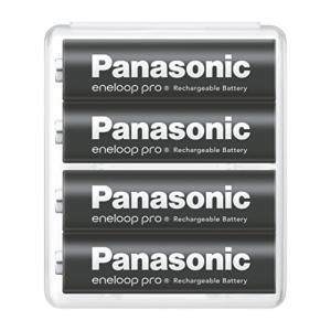充電式電池 パナソニック エネループ 単3形充電池 4本パック 大容量モデル eneloop pro BK-3HCD/4SA|steppers