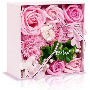 ソープフラワー 創意方形ギフトボックス 誕生日 母の日 記念日 先生の日 バレンタインデー 昇進 転居など最適としてのプレゼント|steppers