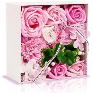 ソープフラワー フラワー 創意花かごギフトボックス 誕生日 母の日 敬老の日 記念日 先生の日 バレンタインデー 昇進 転居など最適としてのプレゼント|steppers