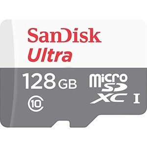 SanDisk microSDXC ULTRA 128GB 80MB/s SDSQUNS-128G Class10 サンディスク|steppers