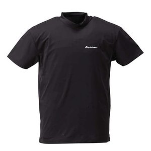大きいサイズ メンズ Phiten コンプレッションハイネック半袖Tシャツ