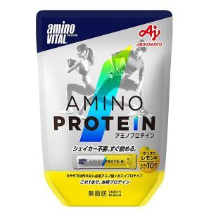 アミノバイタル (aminovital)アミノプロテイン レモン味10本入パウチ(16AM2650)