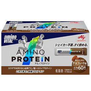 アミノバイタル (aminovital)アミノプロテイン チョコ味60本入パウチ(36jam8304...