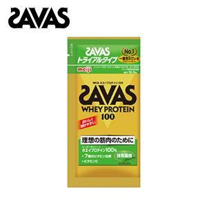 ☆【SAVAS】ザバス ホエイプロテイン100 抹茶 トライアルタイプ【CZ7388】お試し