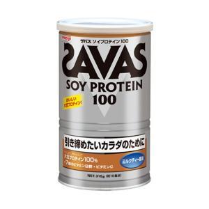 ザバス  SAVAS  ソイプロテイン100 ミルクティー 315g(15食分) CZ7446  S...
