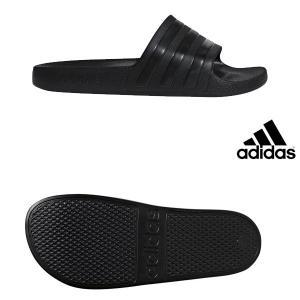 【アディダス】adidas ADILETTE AQUA コアブラック/コアブラック/コアブラック ランニングシューズ メンズ 19SS f35550