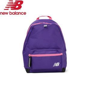 1258c6243de3c 【ニューバランス】new balance Kidsロゴバックパック JABL8230PRV プリズムバイオレット リュック 鞄 子供 キッズ nbk  19FW jabl8230-prv