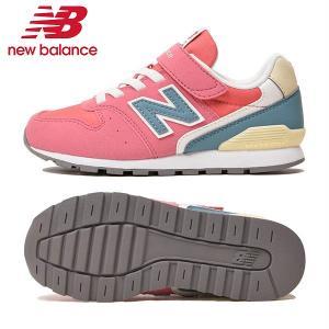 (ニューバランス)new balance KV996 TPY (CARNATION PINK) キッズシューズ 子供 靴 NB 18FW
