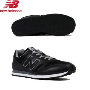 【ニューバランス】newbalance ML373 BLACK/GRAY 2E【ML373-BLK】...