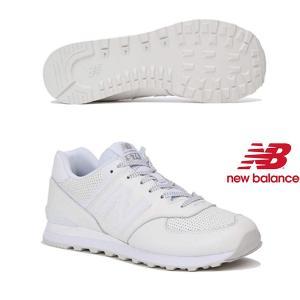 【ニューバランス】new balance ML574 DAW(WHITE) ML574-DAW メン...