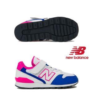 あすつく対応可能☆【ニューバランス】new balance YV996 DC (WHITE/BLUE...