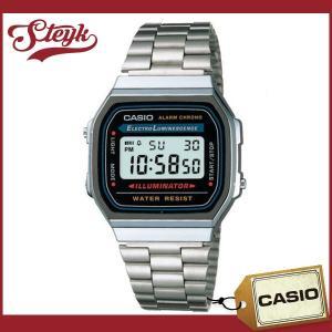 CASIO カシオ 腕時計 チープカシオ デジタル A168WA-1 メンズ 【メール便選択で送料200円】