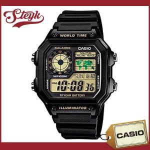 CASIO カシオ 腕時計 デジタル AE-1200WH-1B
