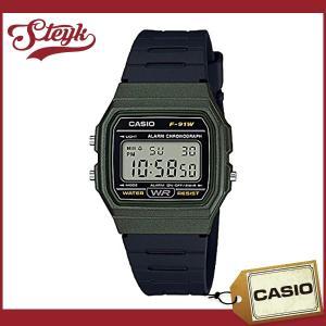 CASIO カシオ 腕時計 チープカシオチープカシオF-91WM-3A デジタル ユニセックス 【メ...