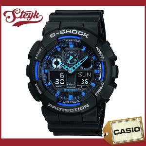CASIO カシオ 腕時計 G-SHOCK Gショック アナデジ GA-100-1A2